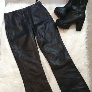 Wilson's Bootcut Leather Pants